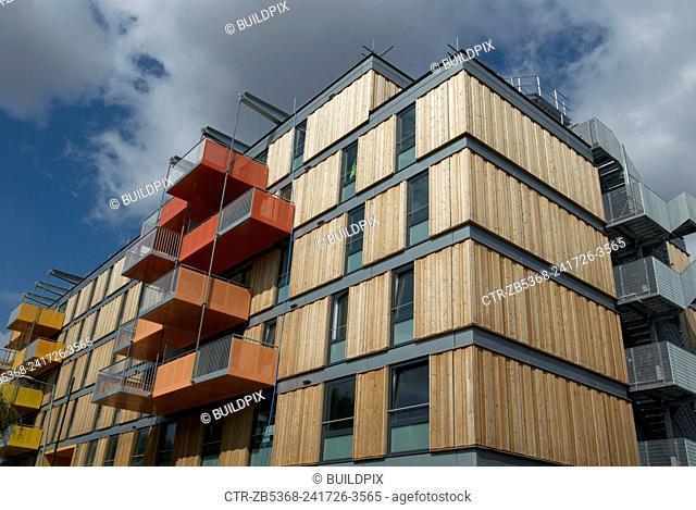 New apartments, Hackney, London, UK
