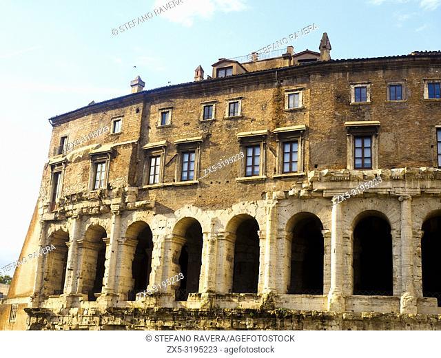 The Theatre of Marcellus (Latin: Theatrum Marcelli, Italian: Teatro di Marcello) is an ancient open-air theatre in Rome, Italy