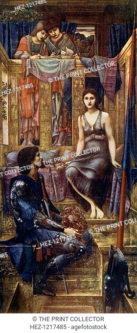 'King Cophetua and the Beggar Maid', 1884, (1912). A colour print from Famous Paintings with an Introduction by Gilbert Chesterton, Cassell and Company, London