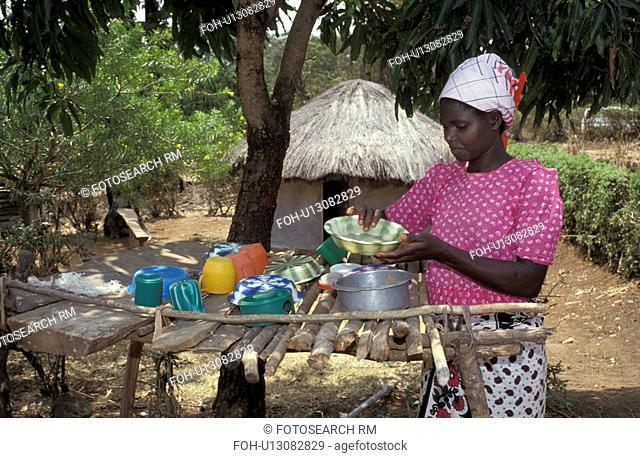 dish, people, hygienic, kenya, person, woman