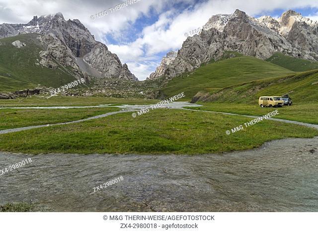 Kurumduk valley, Naryn province, Kyrgyzstan, Central Asia