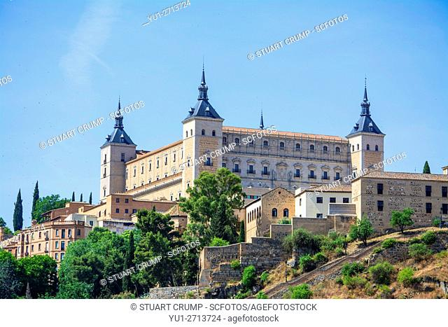 Image of the Alcazar in the Spanish city of Toledo