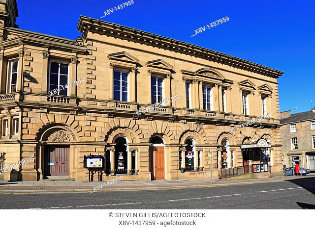 Burnley Mechanics Theatre and The Visit Burnley Centre, Burnley, Lancashire, England, UK