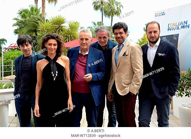 Pierfrancesco Favino, Marco Bellocchio, Maria Fernanda Candida, Fausto Russo Alesi, Fabrizio Ferracane Cannes, 23-05-2019 72nd Cannes Film Festival