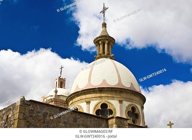 Low angle view of a church, Iglesia De Nuestra Senora De Belen, Real De Asientos, Aguascalientes, Mexico