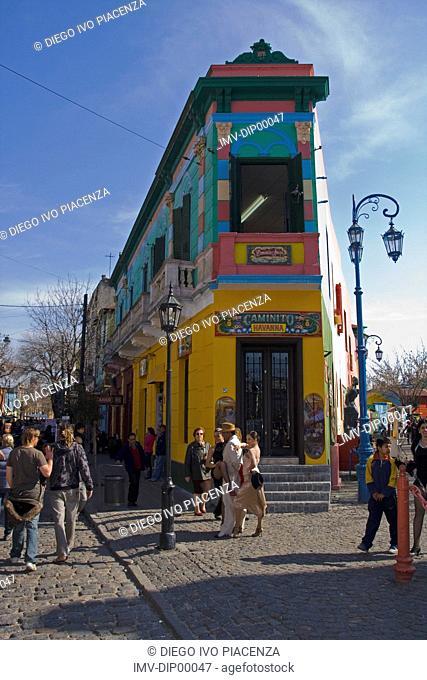 La Boca Caminito,Buenos Aires,Argentina