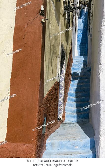 Medina quarter, Tetouan, world heritage, Morocco, Northern Africa