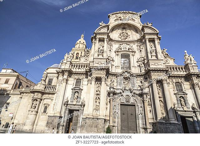 Cathedral Church of Saint Mary in Murcia,Spain