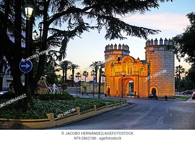 Puerta de Palmas.Badajoz.Extremadura.Spain