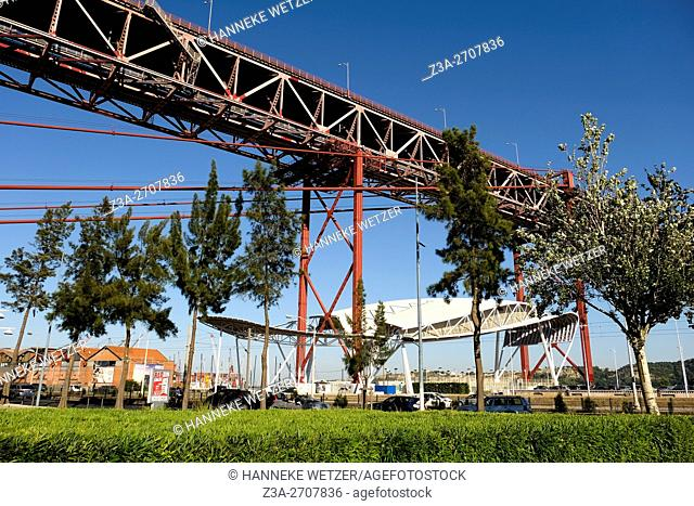 The 25 de Abril Bridge (Ponte 25 de Abril, 25th of April Bridge) is a suspension bridge connecting the city of Lisbon, capital of Portugal