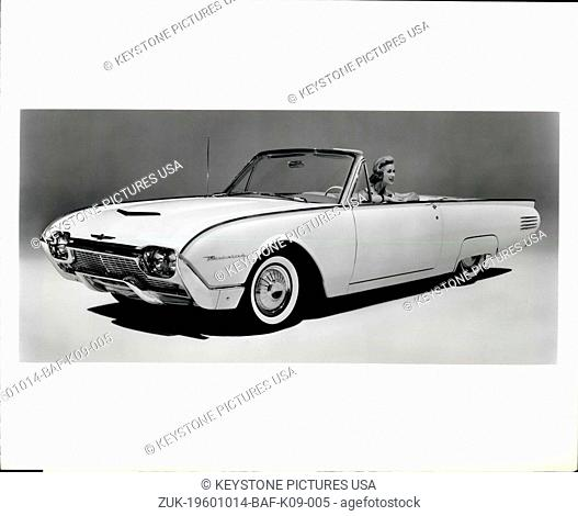 Oct. 14, 1960 - The 1961 Thunderbird - third expression of the classic Thunderbird design - introduces new standards of luxury
