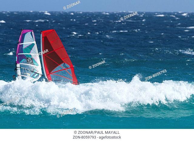 Wind Surfing, Esperance Western Australia