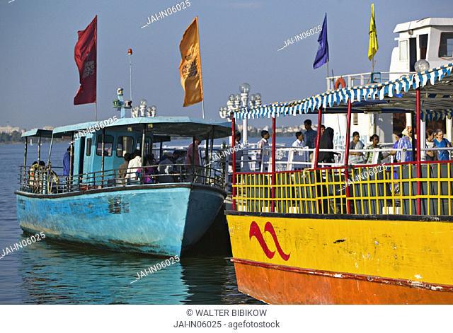 Hussain Sagar Lake, Hyderabad, Andhra Pradesh, India