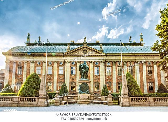 The House of Nobility (Swedish: Riddarhuset) in Stockholm, Sweden, is a corporation and a building, that maintains records and acts as an interest group on...
