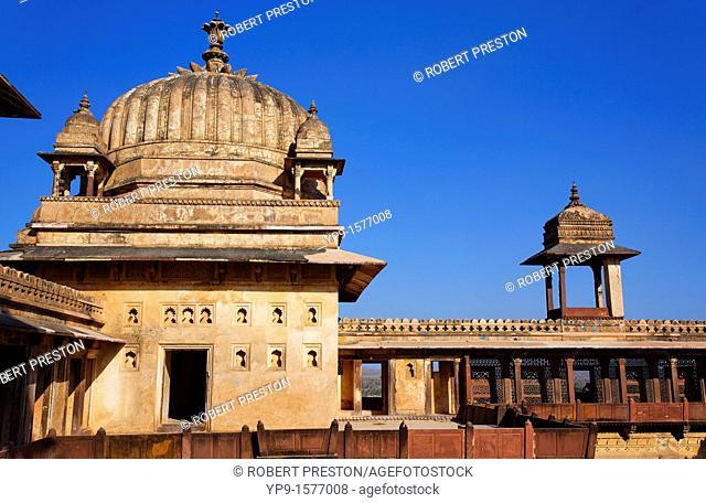 India - Madhya Pradesh - Orchha - Jahangir Mahal