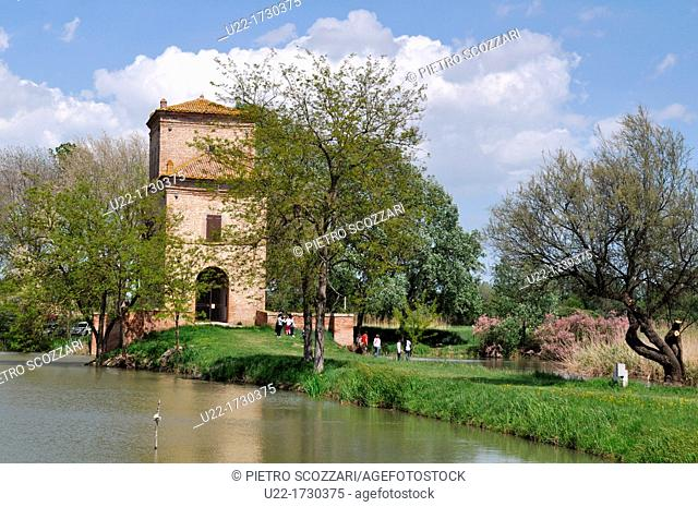 Po River Delta, Italy: Torre Abate