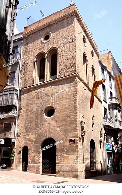 Capella de Sant Jaume (Chapel of St. James), at Peu del Romeu. Lleida, Catalonia, Spain