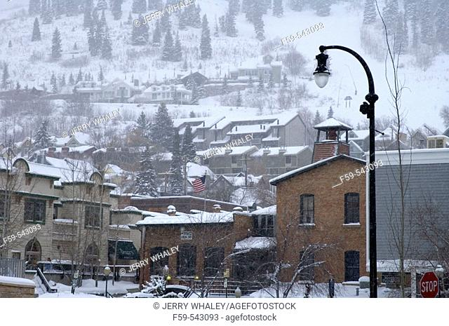 Winter Scenes, Park City, Utah