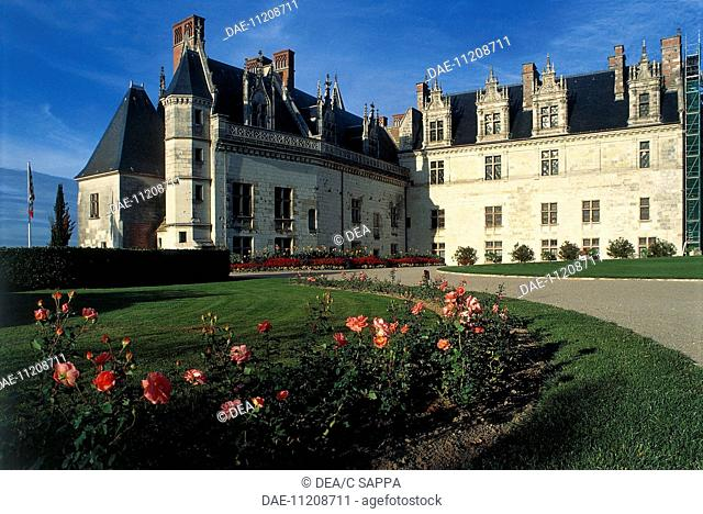 Chateau d'Amboise in France, 13th century, Loire Valley (UNESCO World Heritage List, 2000). France