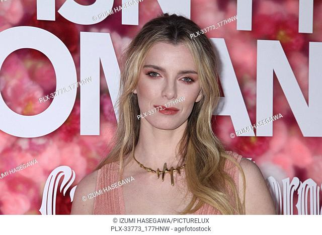"""Betty Gilpin 02/11/2019 The World Premiere of """"""""Isn't It Romantic"""""""" held at the Theatre at Ace Hotel in Los Angeles, CA Photo by Izumi Hasegawa / HNW /..."""