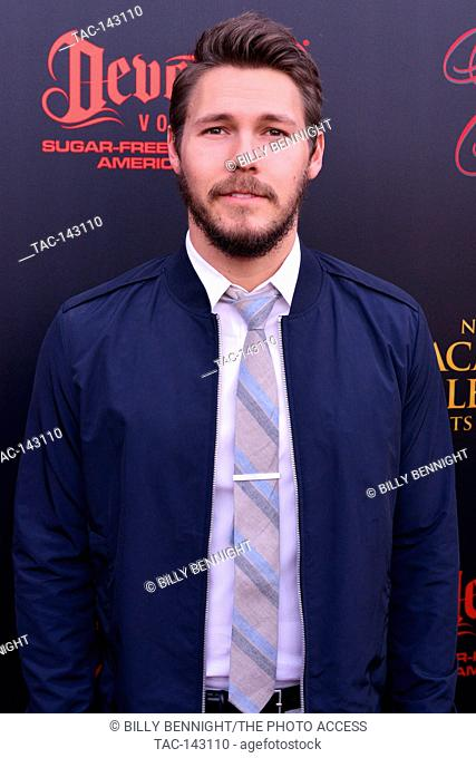 Scott Clifton arrives at the 44th Annual Daytime Emmy Awards Nominee Reception at The Hollywood Museum on April 26th in Hollywood