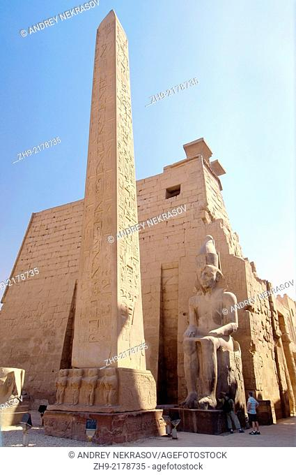 Luxor Temple Complex, Luxor (Thebes), Egypt, Africa