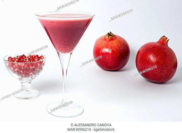 pommegranate smoothie