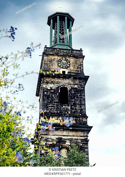 Germany, Lower Saxony, Hanover, Tower of St Giles Church