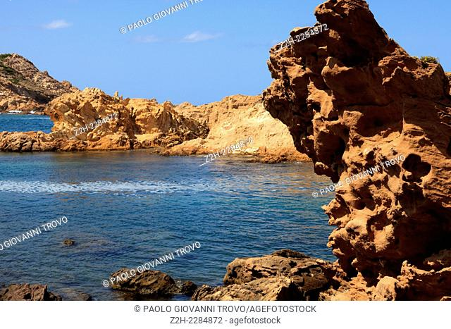 Cala Pregonda Biosphere Reserve area, Menorca, Balearic Islands, Spain