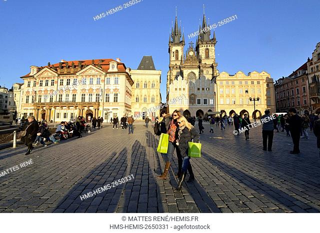 Czech Republic, Central Bohemia, Prague, historical center listed as World Heritage by UNESCO, the Old Town (Stare Mesto)