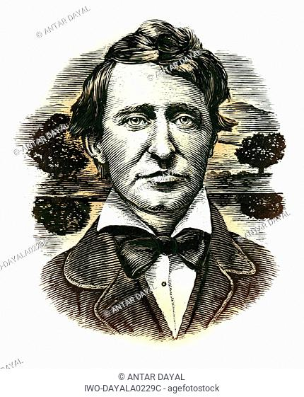 Portrait of Henry Thoreau
