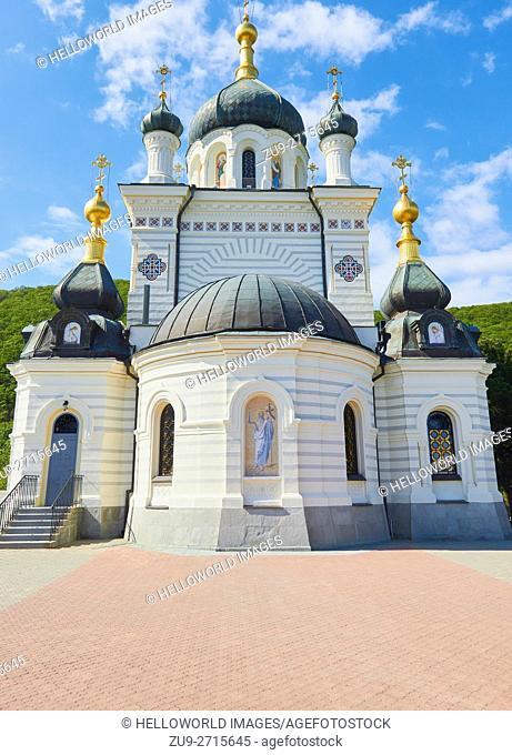 Church of Christ's Resurrection, Foros, Crimean peninsula