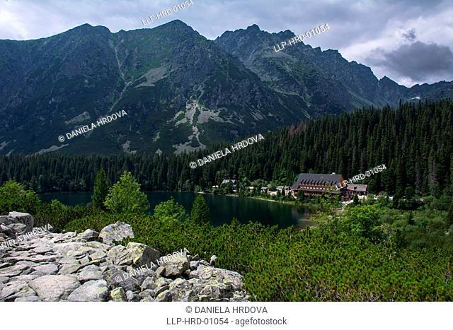 Tatra National Park, Slovakia, Popradske pleso