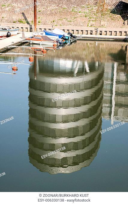 Five Boats, Inner harbor Duisburg, Germany