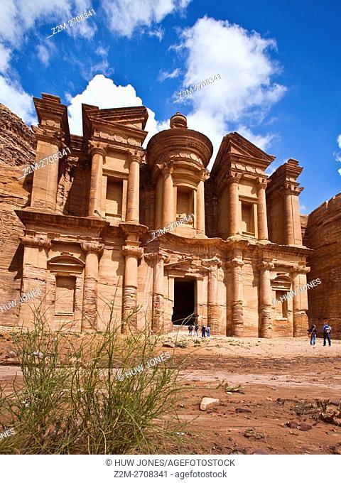 The Monastery (Al-Deir), Petra, Jordan, Western Asia