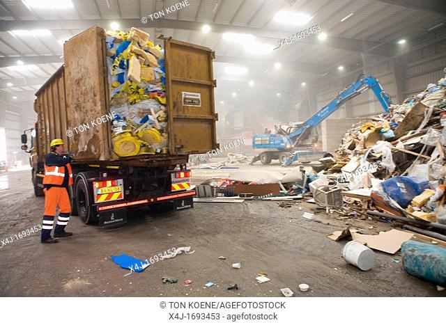 The combustor 'Twence' in The Netherlands is able to process 550,000 tonnes of waste and 150,000 tonnes of biomass annually The majority of waste is being...
