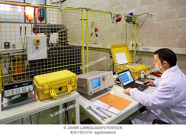 Routine testing and type of electrical transformer, Low voltage electric Laboratory, Certification of electrical equipment, Technological Services to Industry