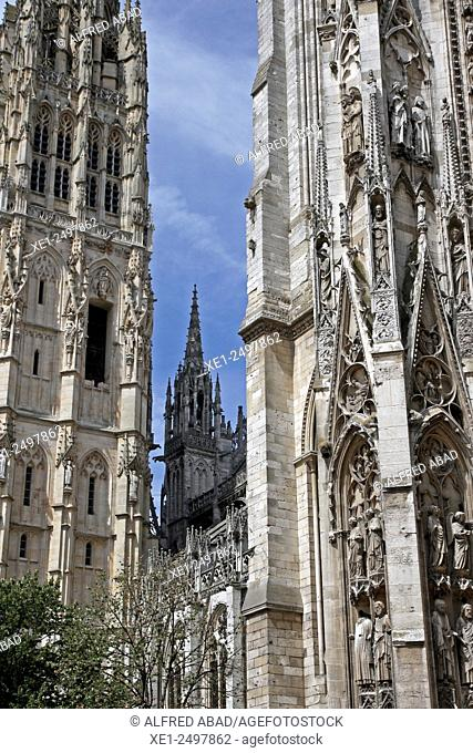 Cathedral of Notre Dame, Rouen, Normandy, France