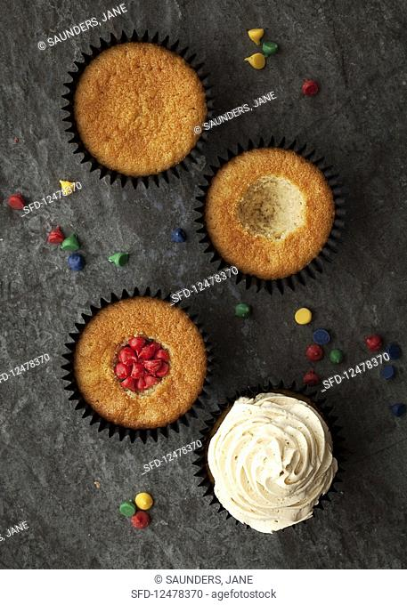 Harry Potter pinata cupcakes