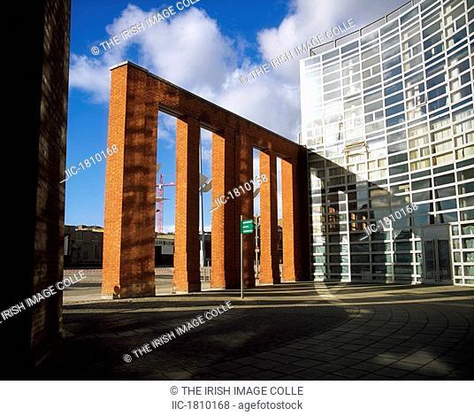 Modern Office Development, Smithfield, Dublin, Ireland