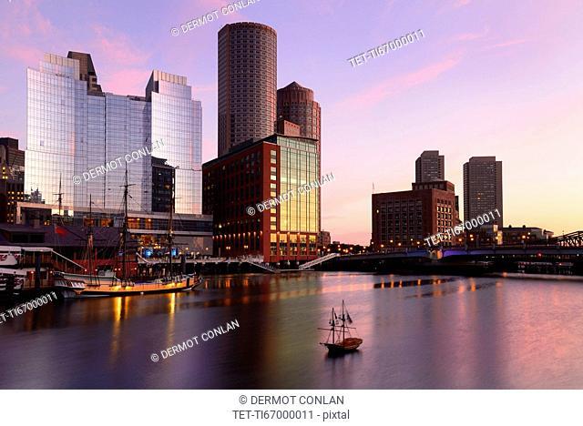 Waterfront at dawn