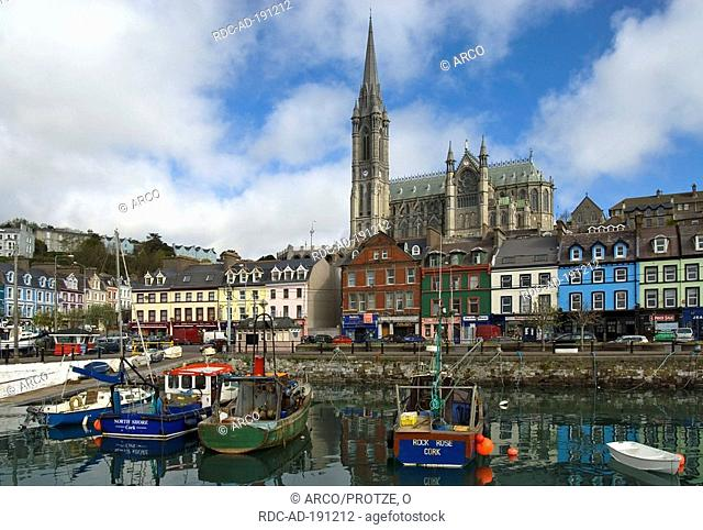 St Colman's Cathedral, Cobh, former Queenstown, County Cork, Ireland, Cobh Cathedral
