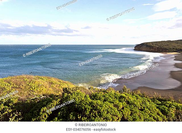 Bells Beach on the Great Ocean Road, Australia, home of the world's longest-running surfing competition