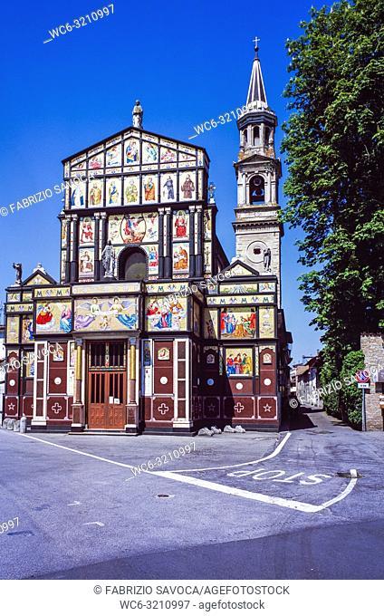 Saint Peter Church, Pizzighettone, Lombardy, Italy