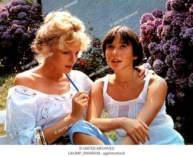 Pauline am Strand, (PAULINE A LA PLAGE) F 1983, Regie: Eric Rohmer, ARIELLE DOMBASLE, AMANDA LANGLET