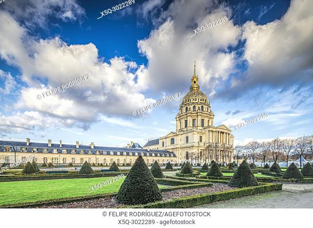 Cathédrale Saint-Louis des Invalides, Paris, France