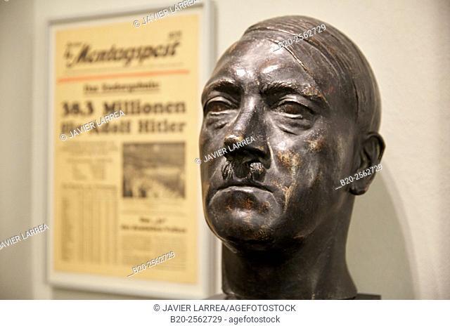 Adolf Hitler, Bernhard Bleecker 1937, Deutsches Historisches Museum, Berlin, Germany