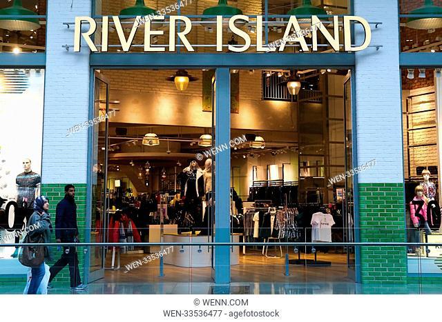 High street stores in Westfield Stratford, London Featuring: River Island Where: London, United Kingdom When: 10 Nov 2017 Credit: WENN.com