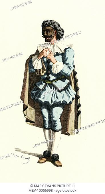 'Marc-Aurel' ('lapidaire') A character from 'Les Neopolitaines' by Francois D'Amboise