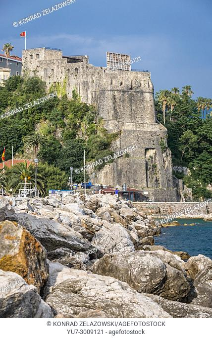 Forte Mare fortress in Herceg Novi city on the Adriatic Sea coast in Montenegro